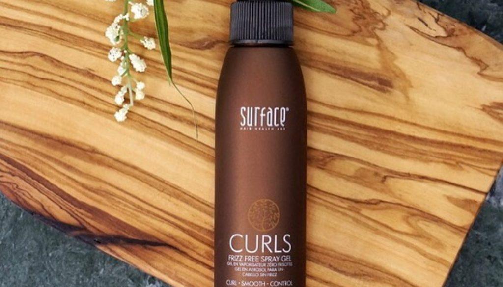 curls spray gel